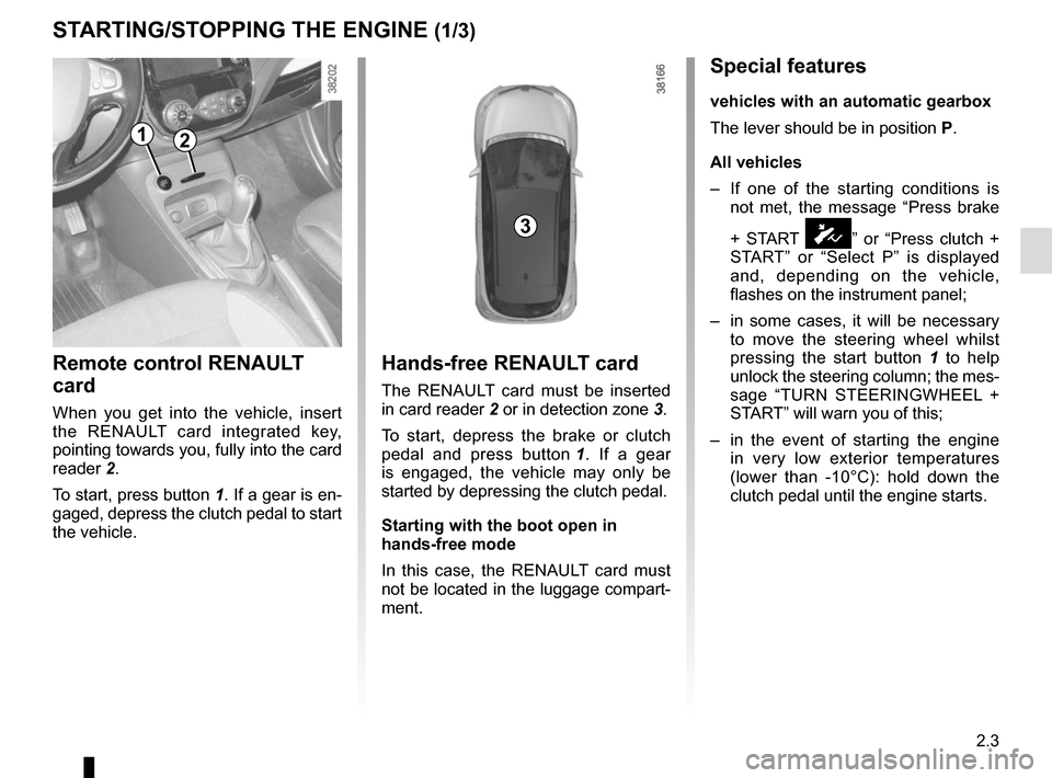 RENAULT CAPTUR 2017 1.G Owners Manual, Page 85