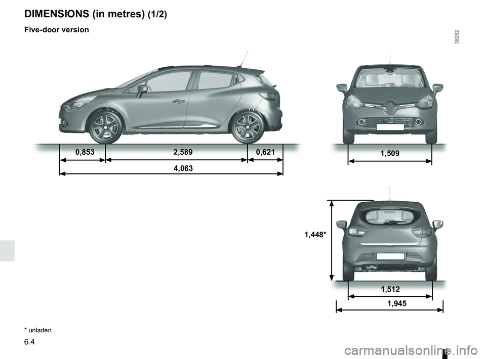 RENAULT CLIO 2017 X98 / 4.G Owners Manual, Page 236