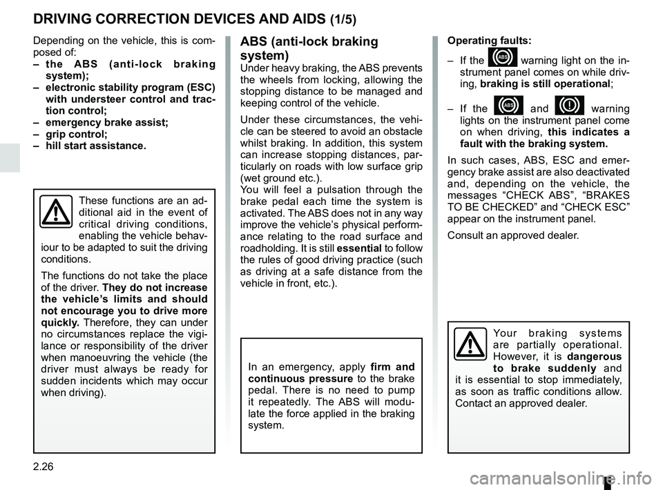 RENAULT KANGOO 2017 X61 / 2.G Owners Manual, Page 118
