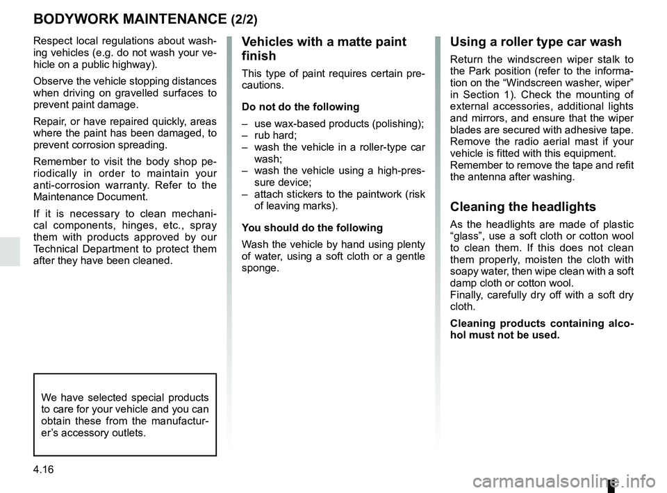 RENAULT KANGOO 2017 X61 / 2.G Owners Manual, Page 190