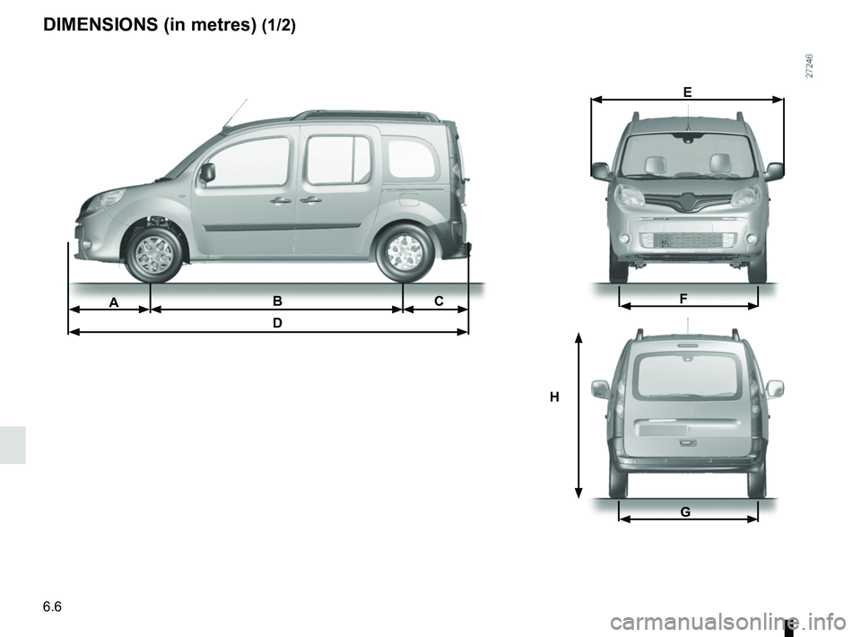 RENAULT KANGOO 2017 X61 / 2.G Owners Manual, Page 238