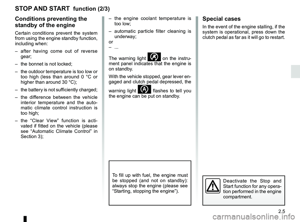 RENAULT KANGOO 2017 X61 / 2.G Owners Manual, Page 97