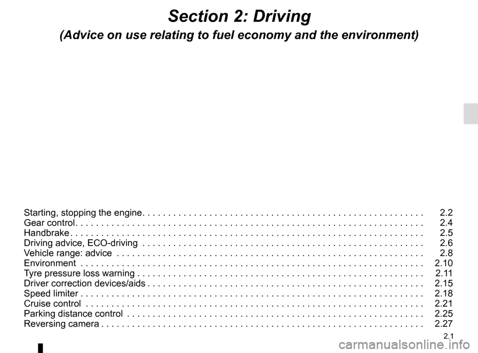 RENAULT KANGOO VAN ZERO EMISSION 2017 X61 / 2.G Owners Manual, Page 99