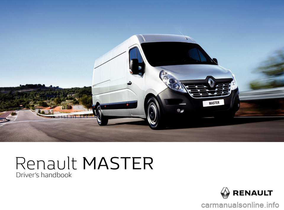 RENAULT MASTER 2017 X62 / 2.G Owners Manual, Page 1