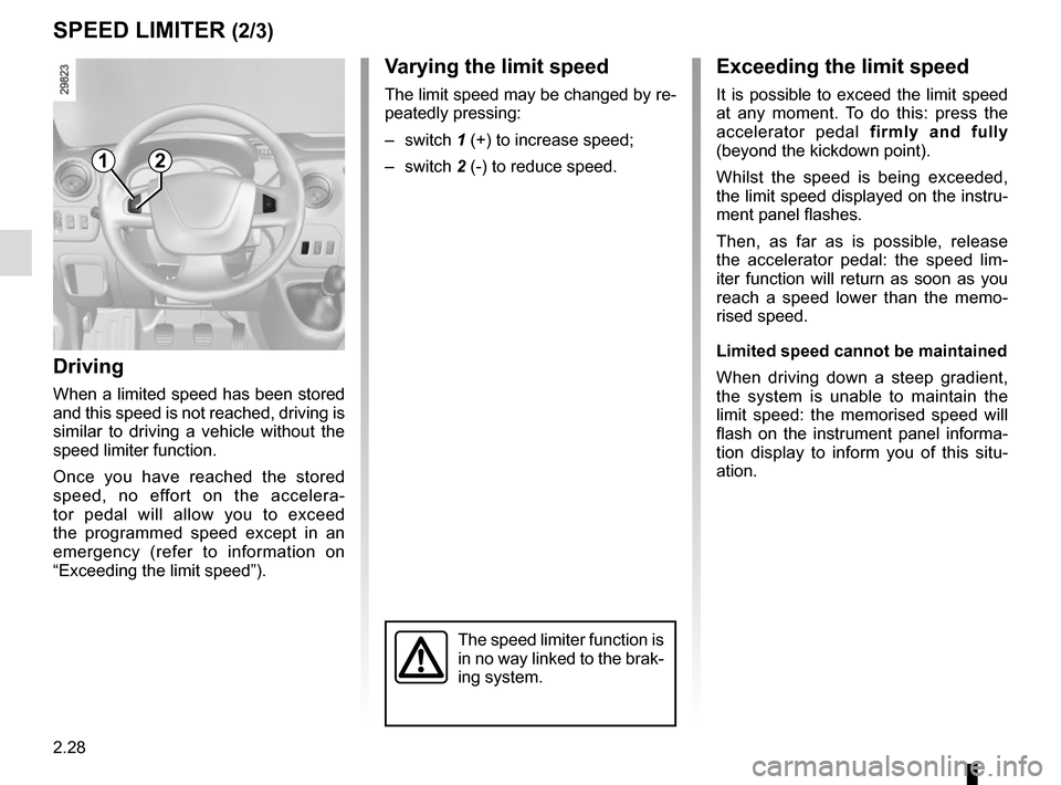 RENAULT MASTER 2017 X62 / 2.G Owners Manual, Page 142