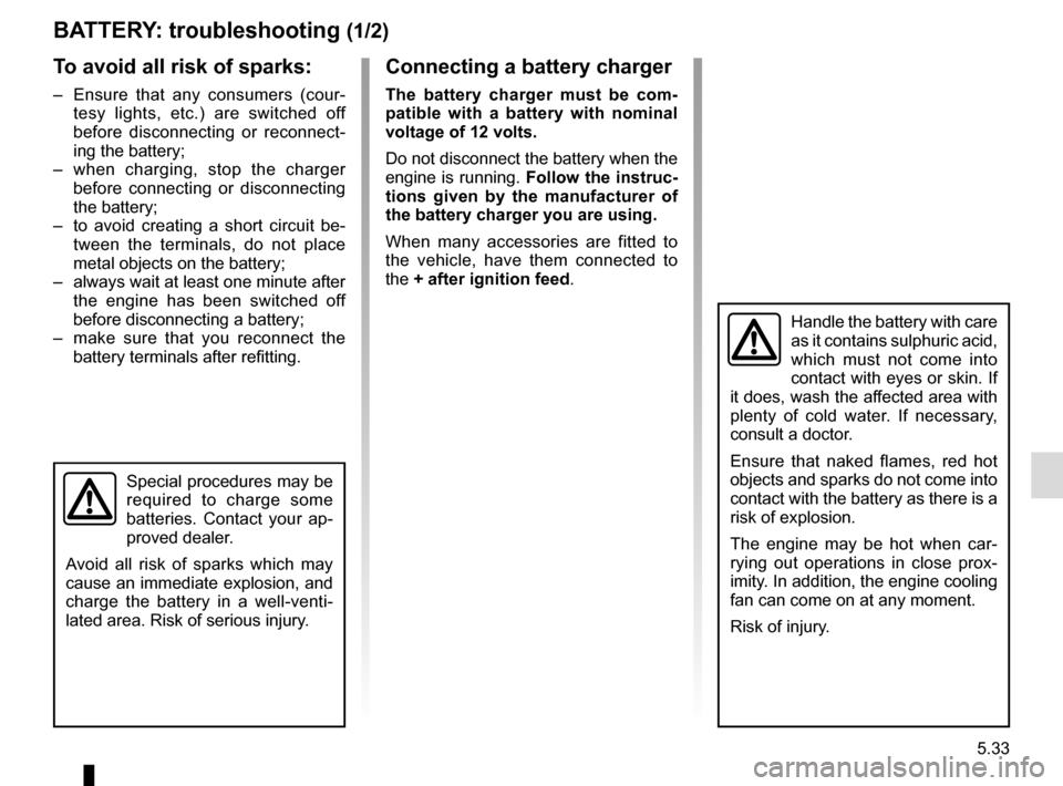 RENAULT MASTER 2017 X62 / 2.G Owners Manual, Page 243