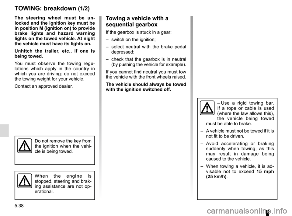 RENAULT MASTER 2017 X62 / 2.G Owners Manual, Page 248