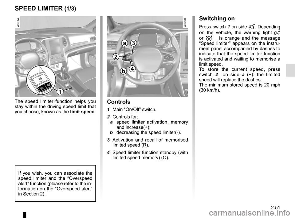 RENAULT MEGANE 2017 4.G Owners Manual, Page 163