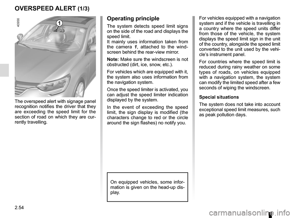 RENAULT MEGANE 2017 4.G Owners Manual, Page 166