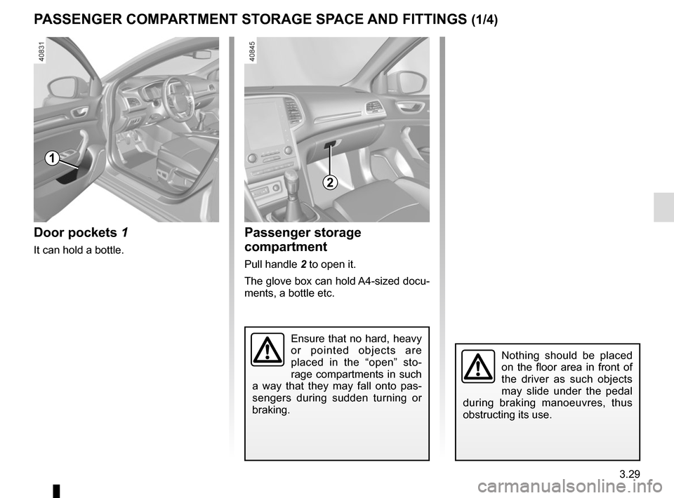 RENAULT MEGANE 2017 4.G Owners Manual, Page 223