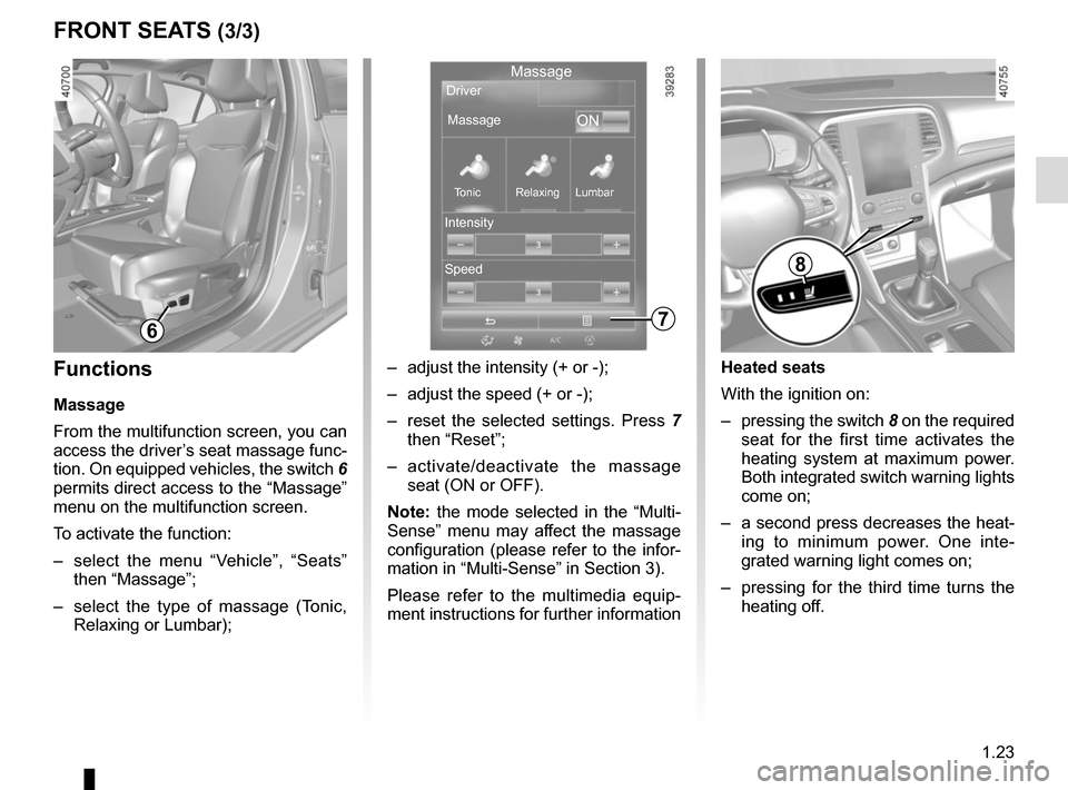 RENAULT MEGANE 2017 4.G Owners Manual, Page 29