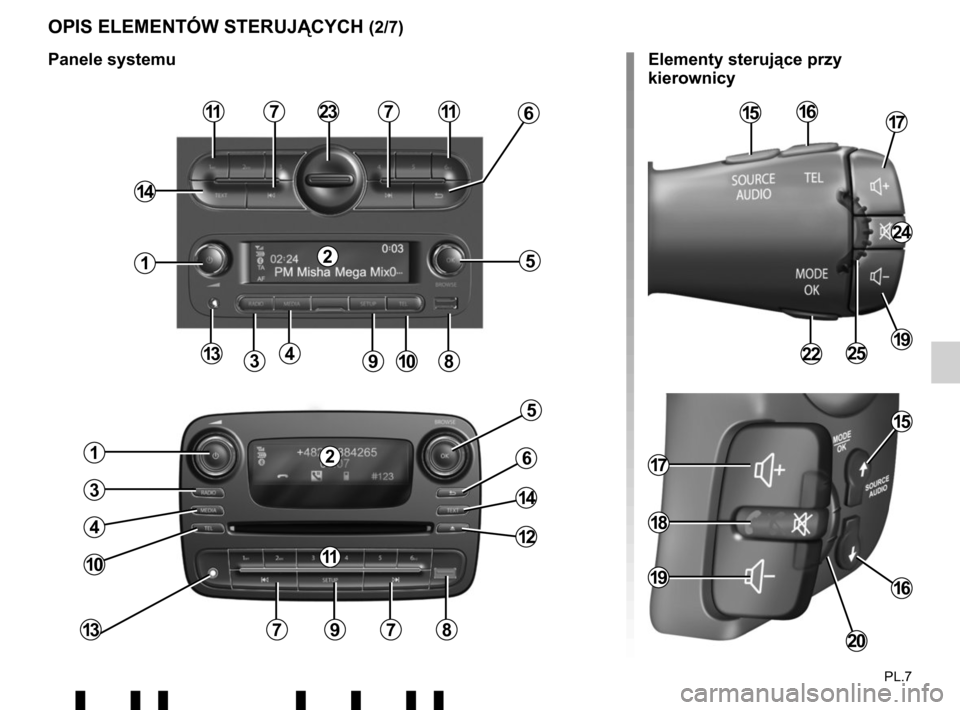 RENAULT TWINGO 2017 3.G Radio Connect R And Go User Manual, Page 185