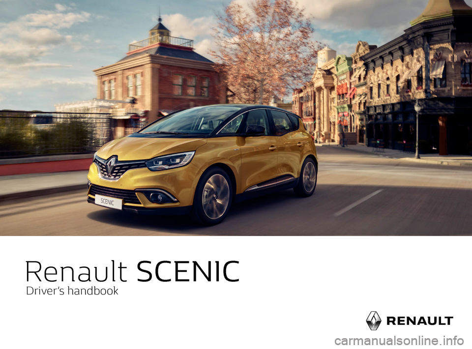 RENAULT SCENIC 2017 J95 / 3.G Owners Manual, Page 1