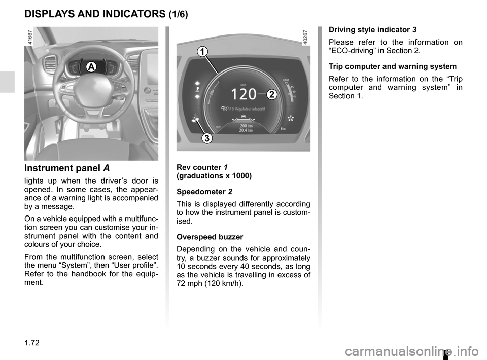 RENAULT SCENIC 2017 J95 / 3.G Owners Manual, Page 78