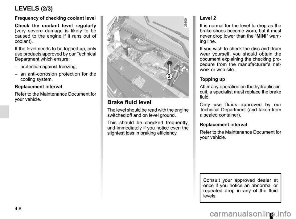 RENAULT TRAFIC 2017 X82 / 3.G Owners Manual, Page 214