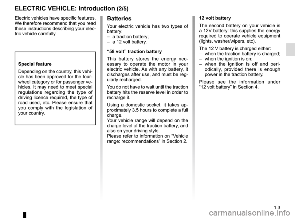 RENAULT TWIZY 2017 1.G Owners Manual, Page 9