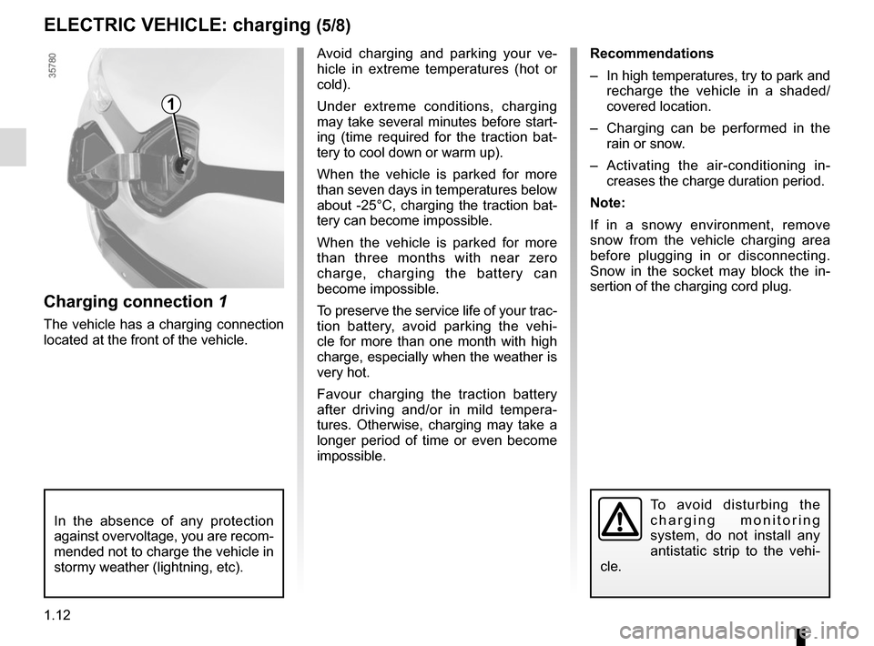 RENAULT ZOE 2017 1.G Owners Manual, Page 18