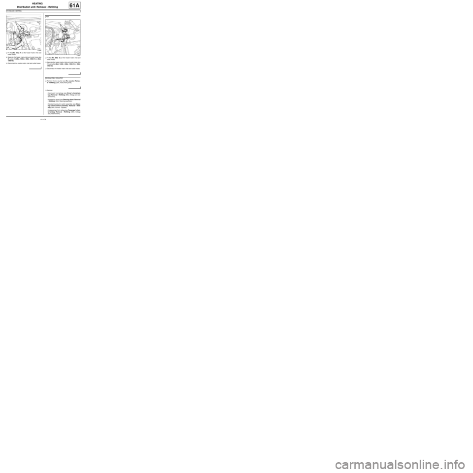 RENAULT TWINGO RS 2009 2.G Air Conditioning Workshop Manual, Page 31
