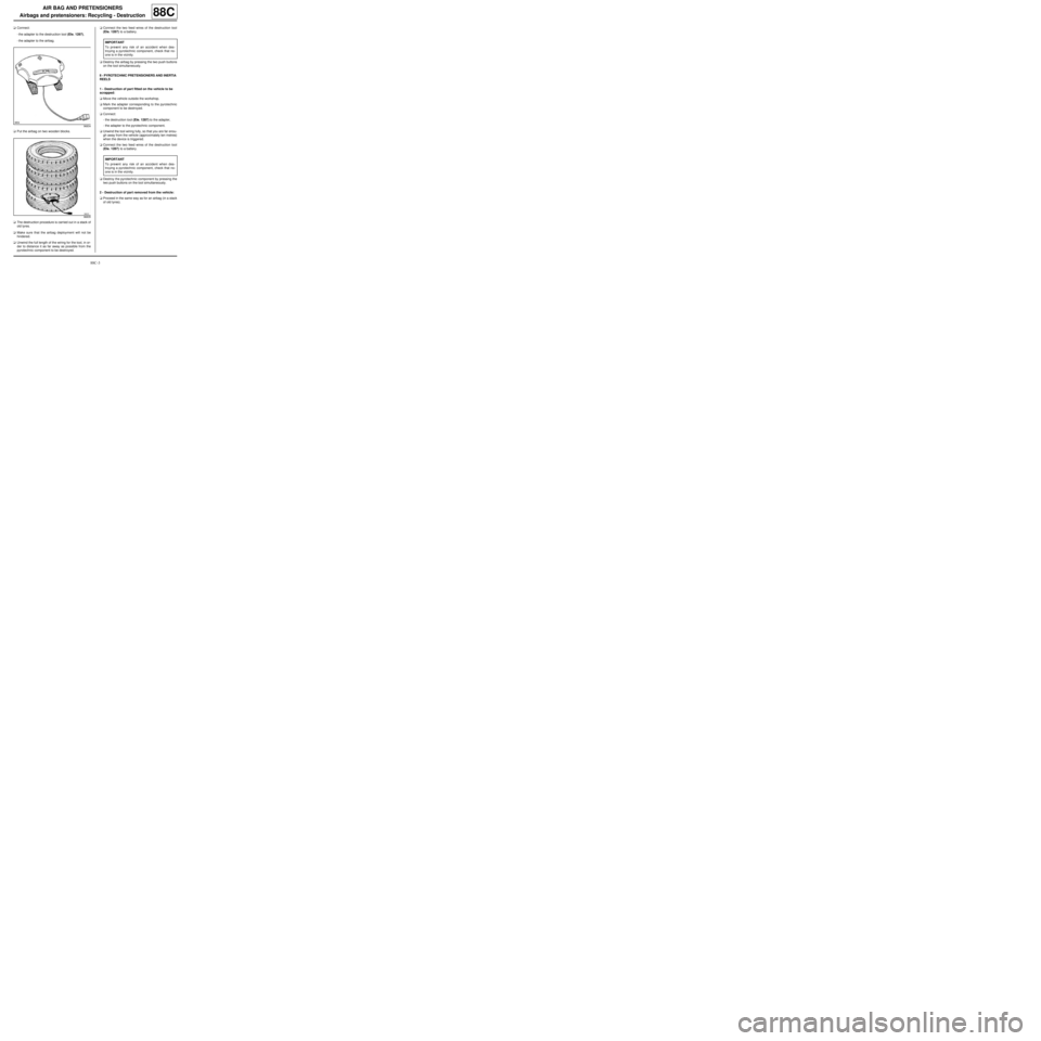 RENAULT TWINGO 2009 2.G Electrical Equipment Workshop Manual, Page 218