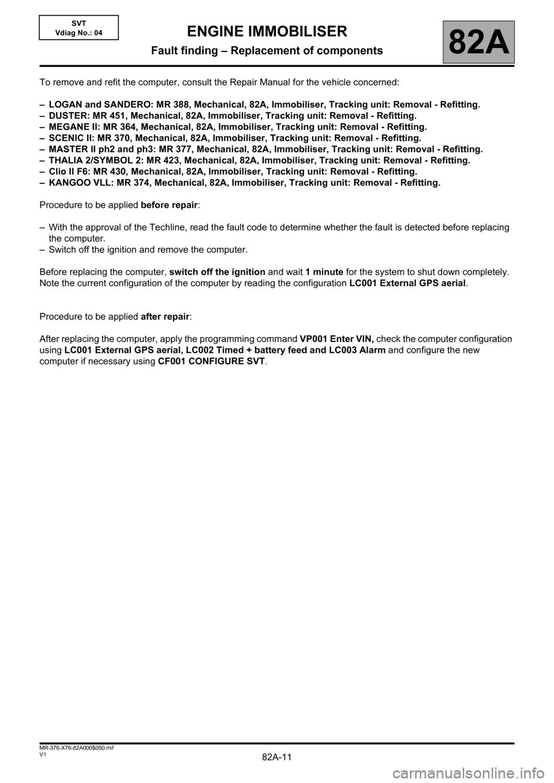 RENAULT KANGOO 2013 X61 / 2 G