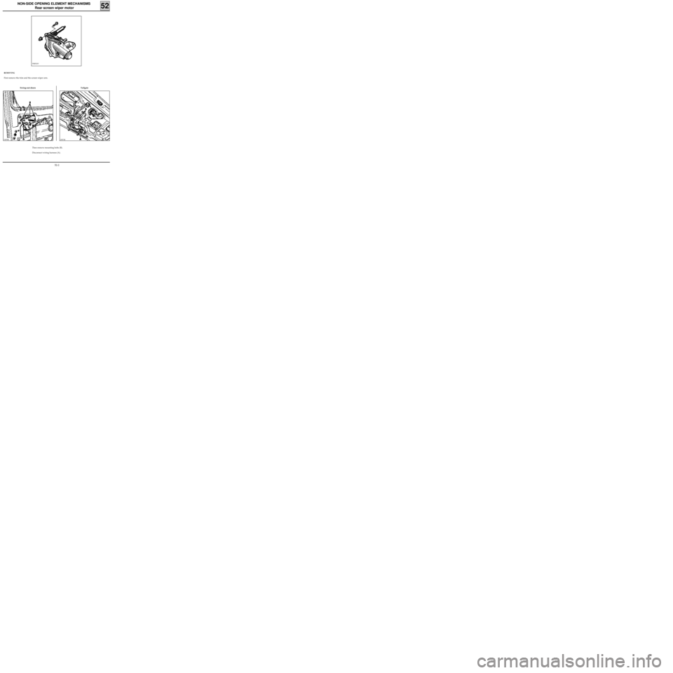 RENAULT KANGOO 2013 X61 / 2.G Mechanism And Accessories Workshop Manual, Page 21