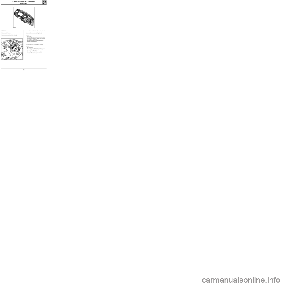 RENAULT KANGOO 2013 X61 / 2.G Mechanism And Accessories Workshop Manual, Page 44