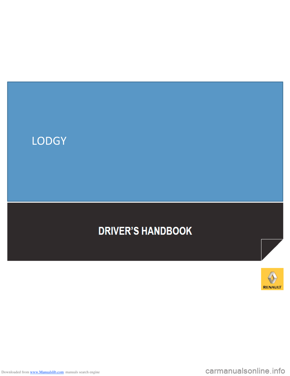 DACIA LODGY 2012 1.G Owners Manual, Page 1