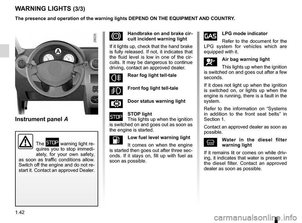 brake fluid dacia sandero stepway 2016 2 g owners manual rh carmanualsonline info dacia duster user manual dacia sandero user guide