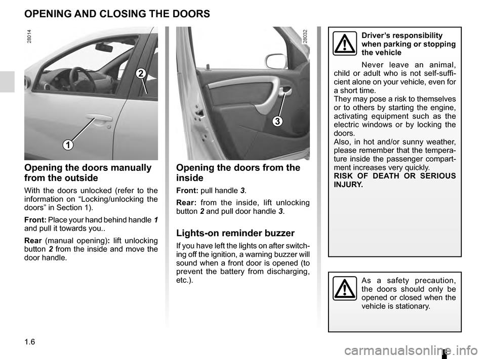 dacia sandero stepway 2016 2 g owners manual rh carmanualsonline info dacia duster user guide dacia duster user guide
