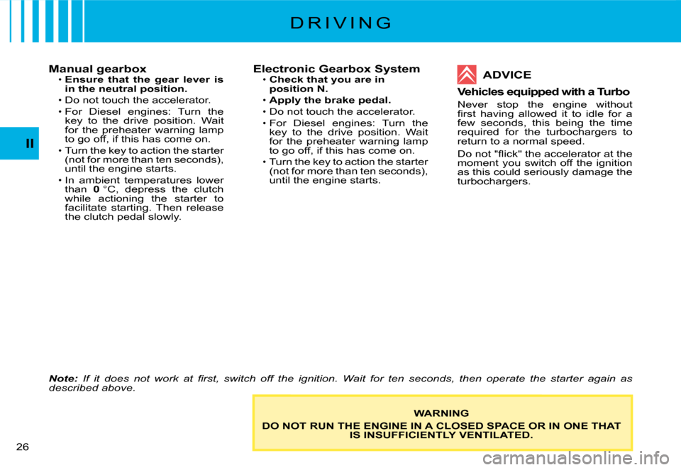 Citroen C2 DAG 2008 1.G Owners Manual, Page 7