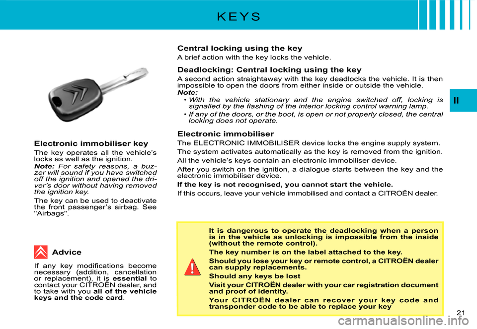 Citroen C3 2008 1.G Owners Manual, Page 3