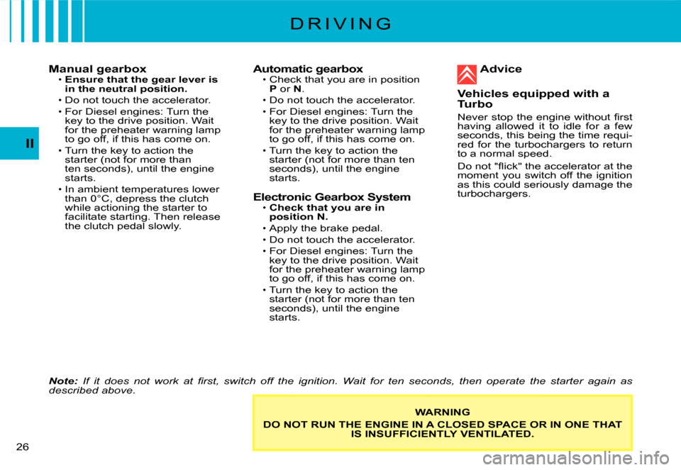 Citroen C3 2008 1.G Owners Manual, Page 7