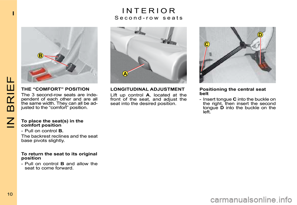 Citroen C4 PICASSO 2008 1.G Owners Manual, Page 7