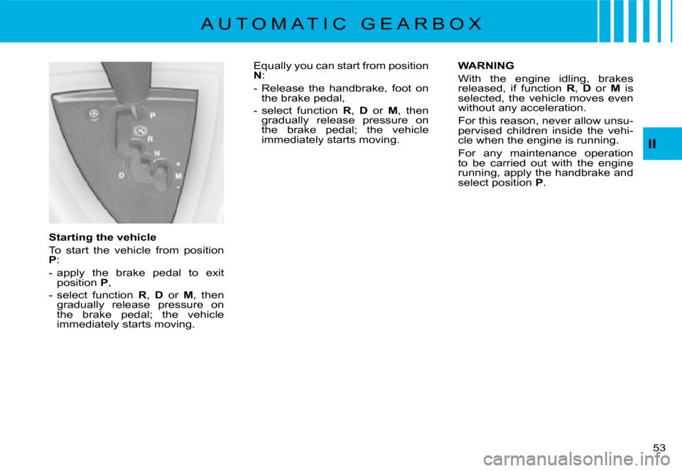 warning citroen c8 2008 1 g owner's manual fiat abarth fuse box citroen c8 2008 1 g owners manual, page 50