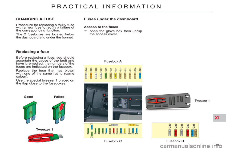 w960_4274 194 fuses citroen c5 rhd 2011 5 (rd td) 2 g owner's manual