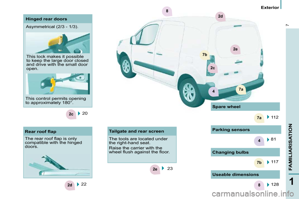 Citroen BERLINGO 2011 2.G Owners Manual, Page 2