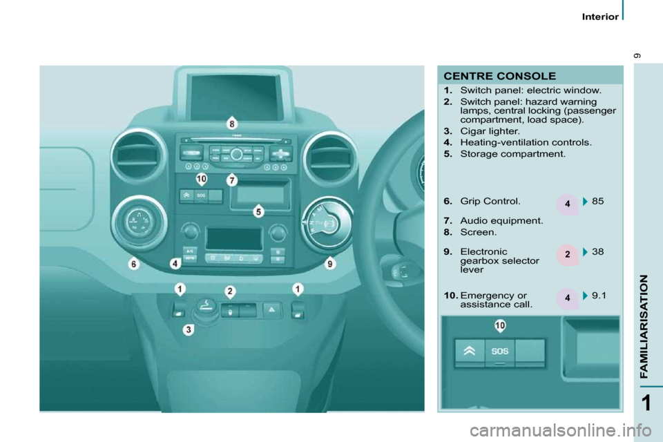 Citroen BERLINGO 2011 2.G Owners Manual, Page 4