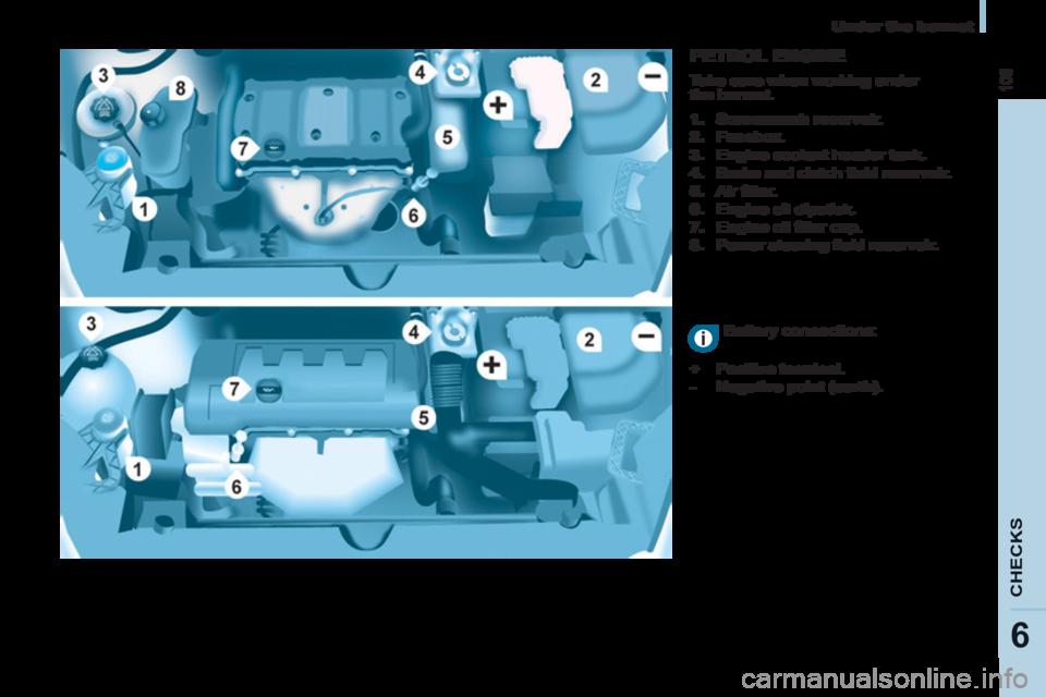engine coolant Citroen BERLINGO RHD 2012 2.G Owner's Manual on engine coil, engine fan, engine radiator, engine starter, engine heater, engine water pump, engine sludge, engine steam, engine wiring, engine manifold leak, engine flush, engine valves, engine motor, engine belts, engine overheating, engine coking, engine cylinder head, engine vibration damper,