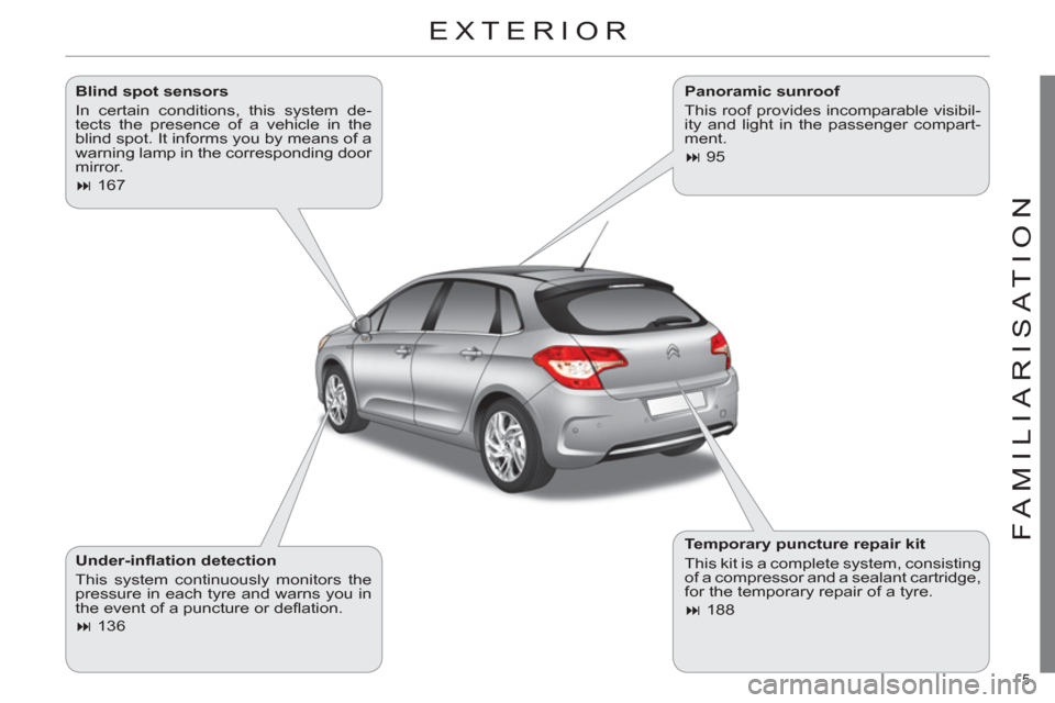Citroen C4 2012 2.G Owners Manual, Page 7