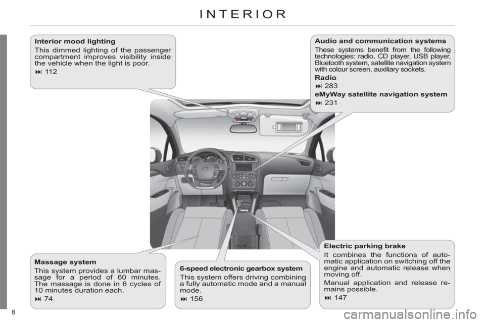 Citroen C4 2012 2.G Owners Manual, Page 10