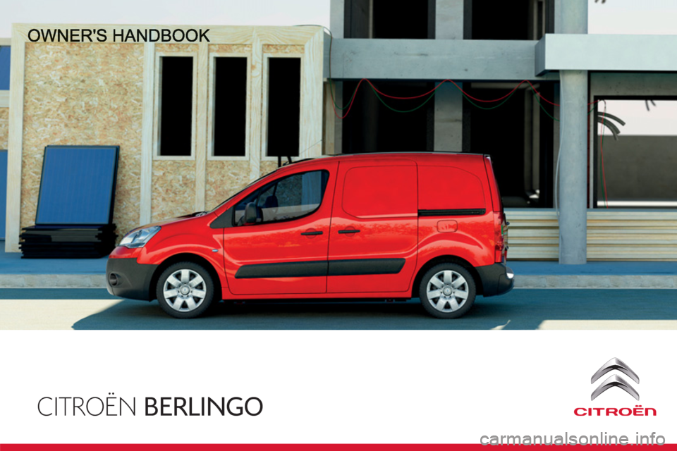 Citroen BERLINGO 2013 2.G Owners Manual, Page 1