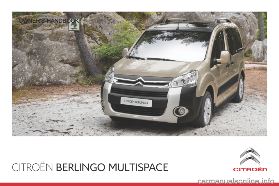 Citroen BERLINGO 2014 2.G Owners Manual, Page 1