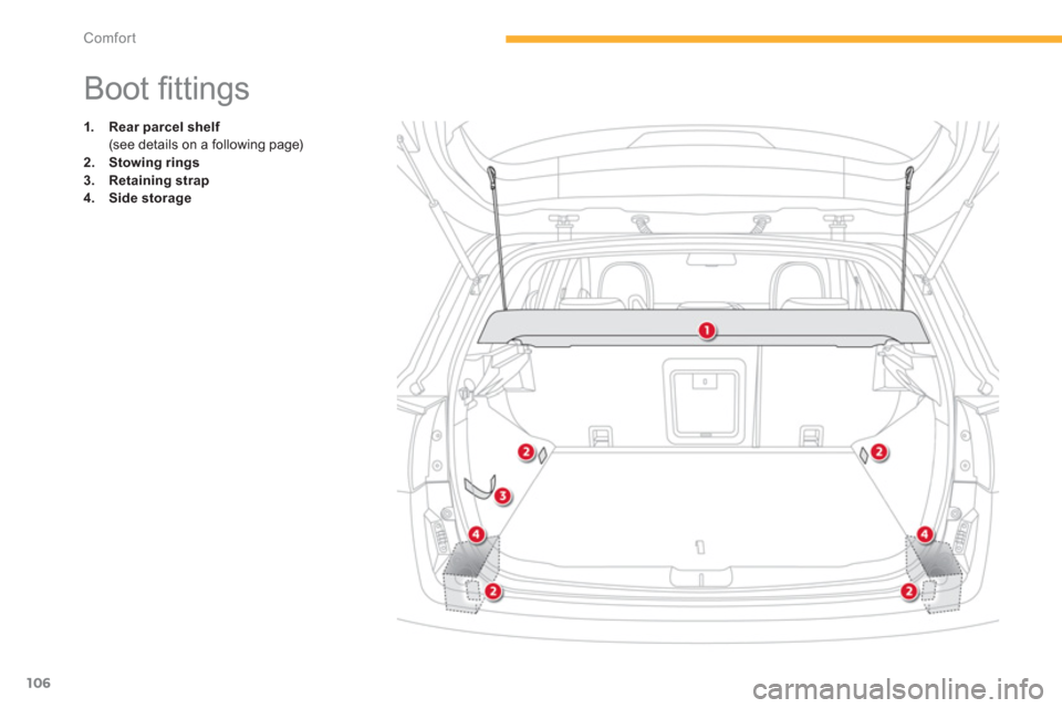 Citroen C4 AIRCROSS 2014 1.G Owners Manual, Page 108