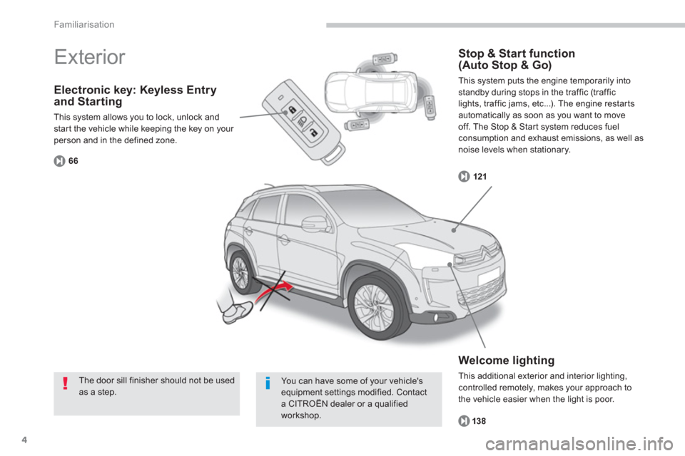 Citroen C4 AIRCROSS 2014 1.G Owners Manual, Page 6