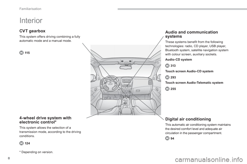 Citroen C4 AIRCROSS 2014 1.G Owners Manual, Page 10