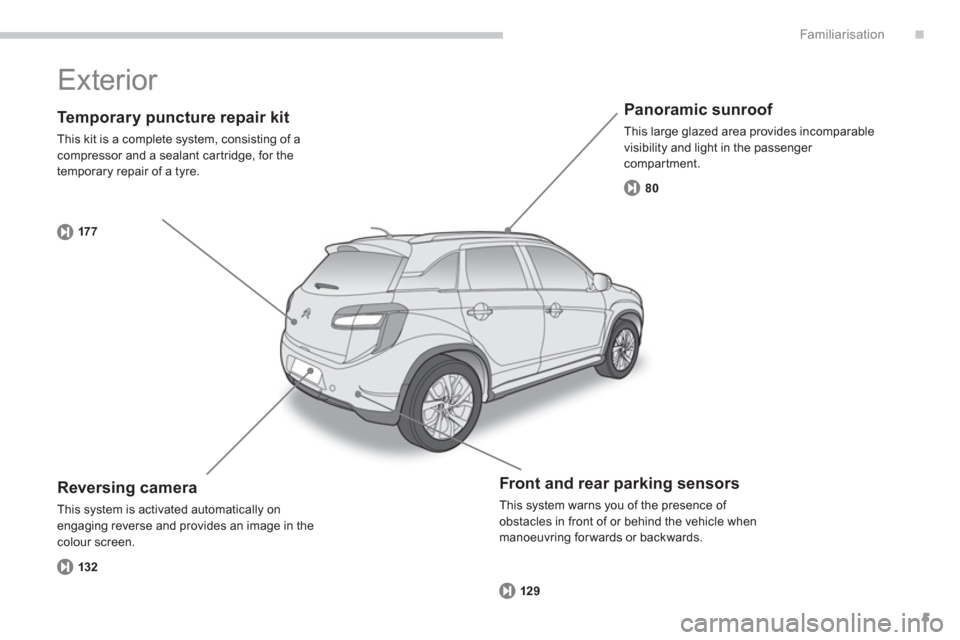 Citroen C4 AIRCROSS RHD 2014 1.G Owners Manual, Page 7