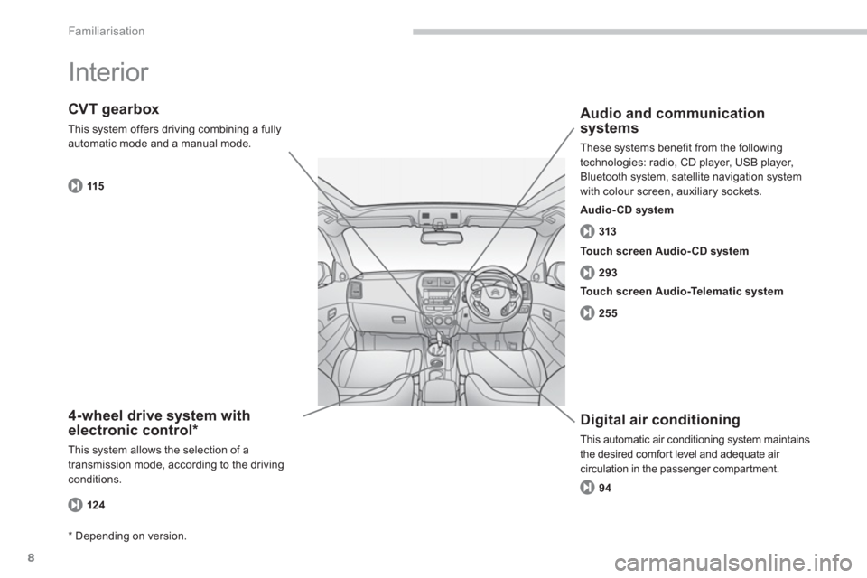 Citroen C4 AIRCROSS RHD 2014 1.G Owners Manual, Page 10