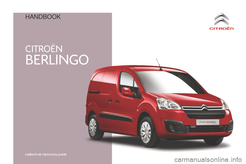 Citroen BERLINGO 2015.5 2.G Owners Manual, Page 1