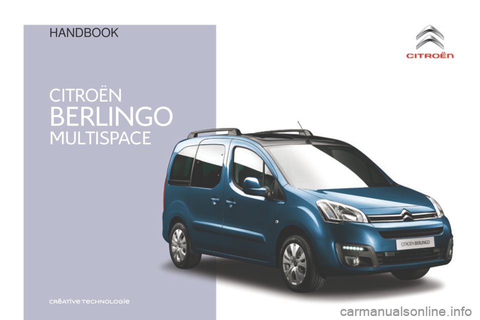 citroen berlingo multispace 2016 2 g owner 39 s manual. Black Bedroom Furniture Sets. Home Design Ideas